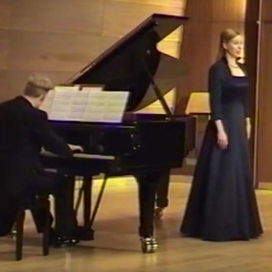 Sopranistin Marret Winger singt von Hugo Wolf: Die Spröde